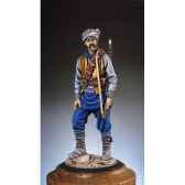 figurine kit a peindre moudjahidin afghan en 1981 sg f007