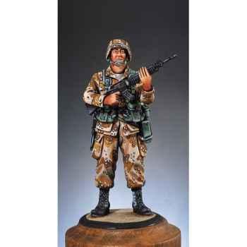 Figurine - Kit à peindre Fantassin E.-U.  guerre du Golfe en 1991 - SG-F011