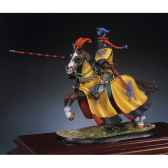 figurine kit a peindre le chevalier du dragon en 1350 sg f018