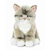 acp chat gris noir blanc 18 cm anna club lifelike 23 179 031