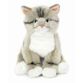 acp chat gris noir blanc 33 cm anna club lifelike 23 179 032