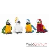 wwf oiseaux tropicaux 14 cm pres 18 pces 15 170 001