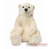 wwf ours polaire assis 47 cm 15 187 005