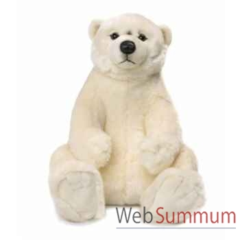 Wwf ours polaire assis, 47 cm -15 187 005