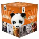 assortiment de 6 peluches collect protect wwf 15 212 014