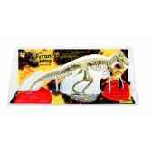 gw t rex 54 pieces assemblees sous coque longueur 115cm geoworld cl164k