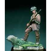 figurine kit a peindre david crockett en 1834 sg f051