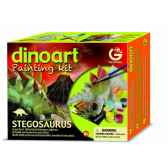 gw dinoart painting kit stegosaurus geoworld cl300k