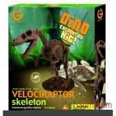 gw dino excav kit velociraptor 27cm geoworld cl119k