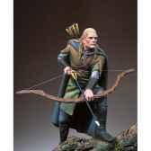 figurine kit a peindre archer elfe sg f084