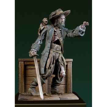 Figurine - Kit à peindre Pirate zombie - SG-F106