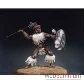 figurine kit a peindre guerrier zoulou isandlwana en 1879 s8 f12