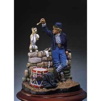 Figurine - Kit à peindre Hussard français en 1813 - S8-F24