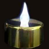 12 bougies led dorees avec flammes blanches produits zen cp03