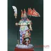 figurine kit a peindre guerrier chinois kua yu en 300 ap j c s8 f33