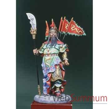 Figurine - Kit à peindre Guerrier chinois  Kua Yu en 300 ap. J.-C. - S8-F33