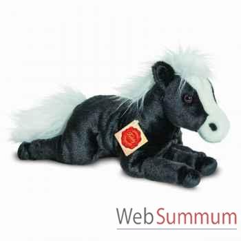 Cheval noir 38 cm hermann -90245 4