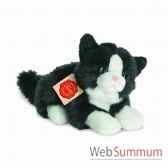 chat noir et blanc 20 cm hermann 90689 6