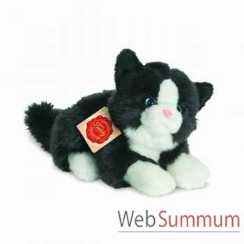 Chat noir et blanc 20 cm hermann -90689 6