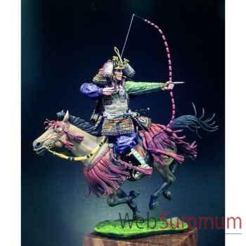 Figurine - Kit à peindre Samouraï à cheval au  XIVe siècle - S8-F37