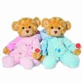 pyjama bear pink 39 cm hermann 91352 8