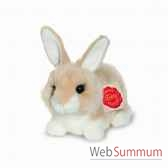 lapin assis beige 15 cm hermann 93767 8
