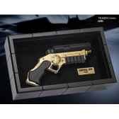 lapin assis gris 15 cm hermann 93769 2