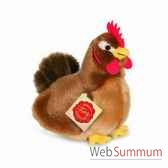 poule marron 16 cm hermann 94145 3