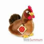 poule marron 16 cm hermann 94145 3