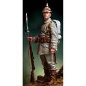 figurine kit a peindre fantassin prussien en 1916 s8 f42