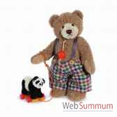 ours teddy bear sigi with panda 24 cm hermann 17041 9