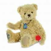 signe du zodiac ours virgo 28 cm gemstone sodalite hermann 18021 0