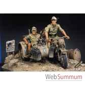 figurine kit a peindre afrikakorps bmw r75 s8 s01