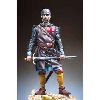 Figurine - Kit à peindre Sergent des templiers en 1250 ap. J.-C - S11-F01