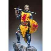 figurine kit a peindre robert the bruce roi des ecossais en 1315 s11 f02