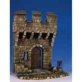 figurine kit a peindre aile de chateau medievaas 001