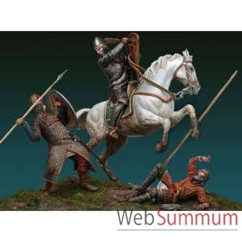 Figurine - Kit à peindre Ensemble La Bataille de Hastings, 1066 AP. J.-C - SM-S07