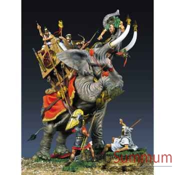 Figurine - Kit à peindre Ensemble Eléphant de l'armée carthaginoise en 2022 av. J.-C. - SG-S04