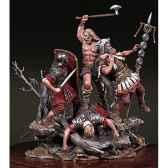 figurine kit a peindre ensemble les barbares sont la sg s13