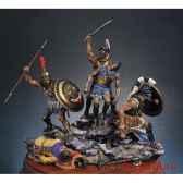 figurine kit a peindre ensemble mort des spartiates au defile des thermopyles en 480 av j c sg s06