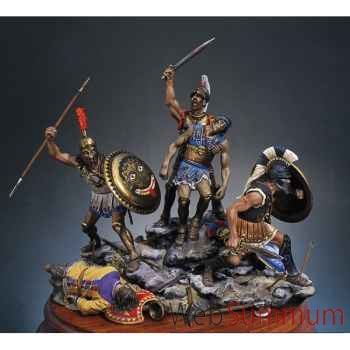 Figurine - Kit à peindre Ensemble Mort des Spartiates au défilé des Thermopyles en 480 av. J.-C. - SG-S06