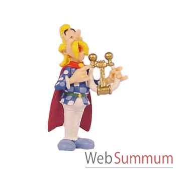 Figurine Assurancetourix jouant de la lyre -60548