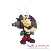 figurine asterix avec un sanglier 60545