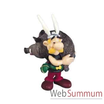Figurine Astérix avec un sanglier -60545