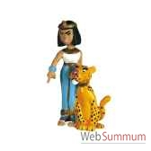 figurine cleopatre et sa panthere 60513