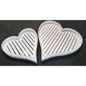 photo cubes bois verre antique argente casablanca design 51554