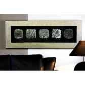 peinture murale grande bois verre casablanca design 51767