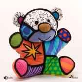 colonne en bois blanc brillant 100 cm casablanca design 51925