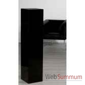 colonne mdf noir brillant 120 cm casablanca design 51940