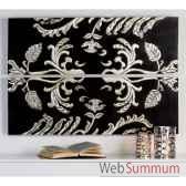 peinture various bois noir argent casablanca design 51961